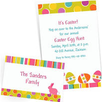 Custom Easter Invitations & Thank You Notes