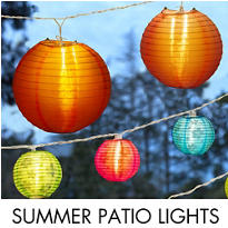Summer Patio Lights