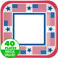 Patriotic Value Plates & Tableware