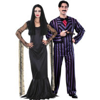 Addams Family Couples Costumes