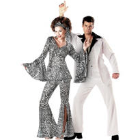 Foxy Lady and Saturday Night Fever Couples Costumes