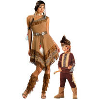 Native American Mommy And Me Costumes