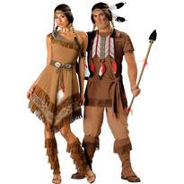 Elite Native American Couples Costumes