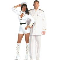 Navy and Admiral Couples Costumes