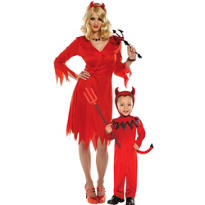 Devil Mommy and Me Costumes