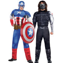 Captain America and the Winter Soldier Couples Costumes