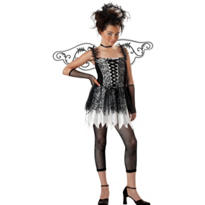 Girls Dark Angel Costume