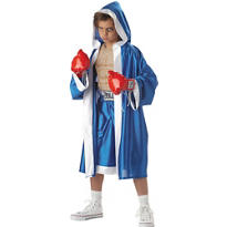 Boys Muscle Chest Everlast Boxer Costume