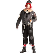 Adult Bad Boy Rag Doll Costume