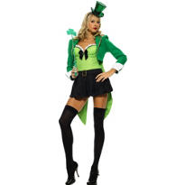 Adult Clover Leprechaun Costume