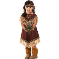 Toddler Girls Lil' Princess Native American Costume