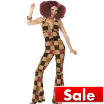 Adult Boogie Babe 70's Disco Costume