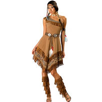 Adult Maiden Native American Costume Elite