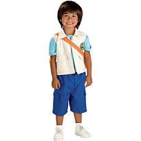 Boys Diego Costume Deluxe - Go, Diego, Go!