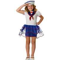 Girls Sweetheart Sailor Costume