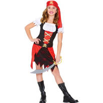 Girls Skull Pirate Costume