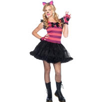 Teen Girls Charming Cheshire Costume