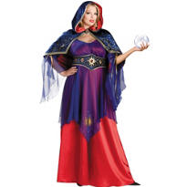 Adult Mystical Sorceress Costume Elite Plus Size