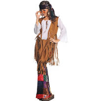 Adult Peace Out Hippie Costume