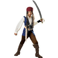 Boys Jack Sparrow Costume - Pirates of the Caribbean