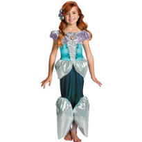 Girls Shimmer Ariel Costume