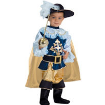Toddler Boys Musketeer Costume Deluxe