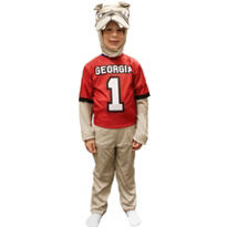 Child Georgia Bulldogs Mascot Costume