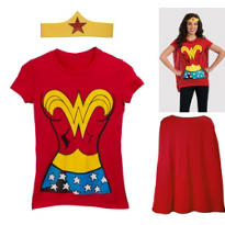 Wonder Woman Costume Kit