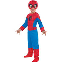 Toddler Boys Classic Spider-Man Costume