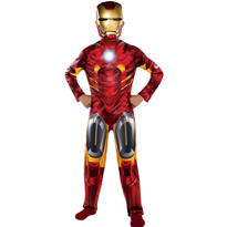 Boys Classic Iron Man Costume