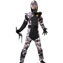 Boys Arctic Forces Ninja Costume