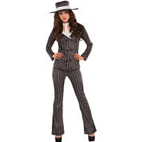 Adult Mob Wife Costume
