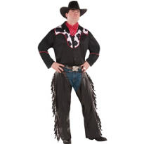 Adult Cowboy Costume Plus Size