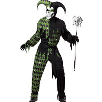Adult Jokes On You Evil Jester Costume