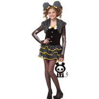 Girls Matt the Mouse Costume - Skelanimals