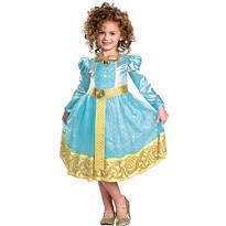 Girls Merida Costume Deluxe - Brave