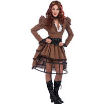 Adult Steampunk Vickey Costume