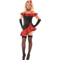 Teen Girls Spanish Senorita Costume