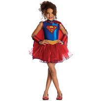 Girls Supergirl Tutu Costume
