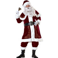 Adult Jolly Ole St. Nick Santa Suit Elite