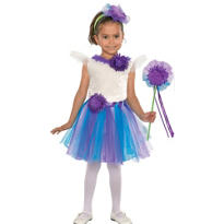 Toddler Girls Lavender Daisy Princess Costume
