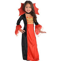 Girls Gothic Princess Costume