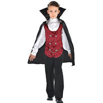 Boys Dark Vampire Costume