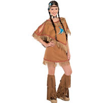 Teen Girls Native Princess Costume