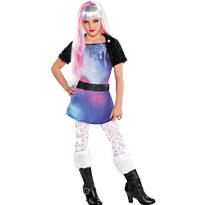 Girls Monster High Abbey Bominable Costume