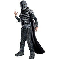 Boys General Zod Costume Deluxe Man of Steel - Superman