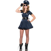 Teen Girls Locked N Loaded Cop Costume