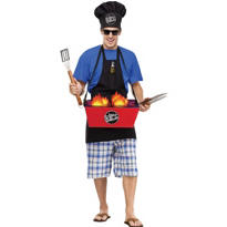 Adult Grillin' and Chillin' Costume