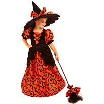 Girls Curly the Witch Costume