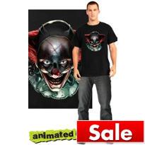 Clown Psychopath Animated T-Shirt